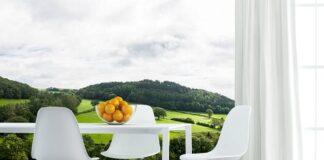 Fototapeta do kuchni krajobraz