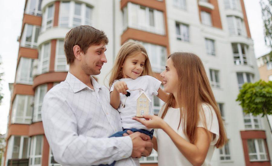 Kupno domu rodzina